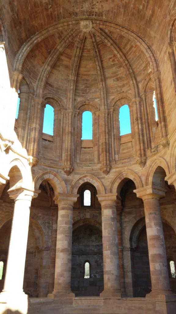 Ábside del Monasterio de Santa María de Moreruela (Zamora)