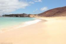 Playa de las Conchas, en la isla La Graciosa