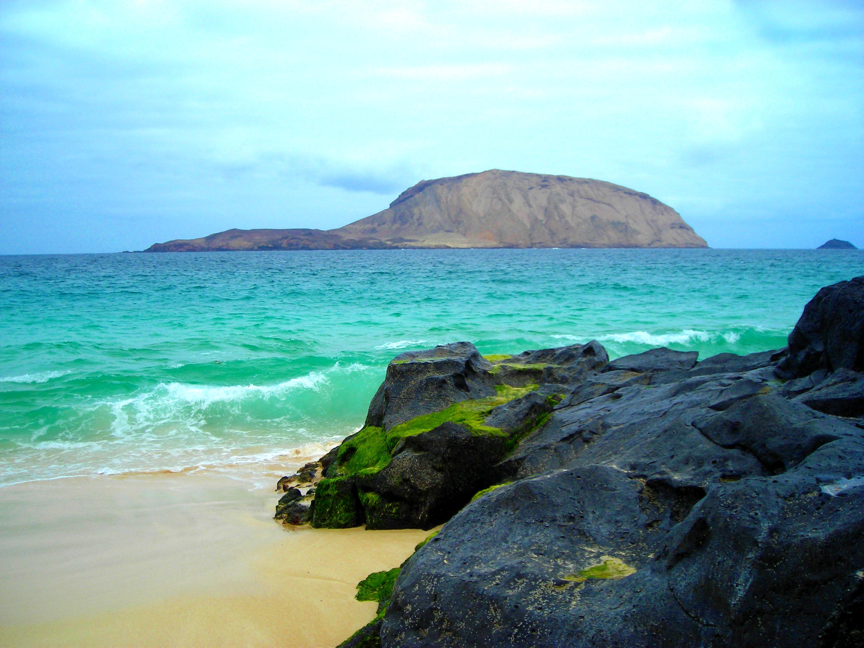 Playa de Las Conchas, en La Graciosa