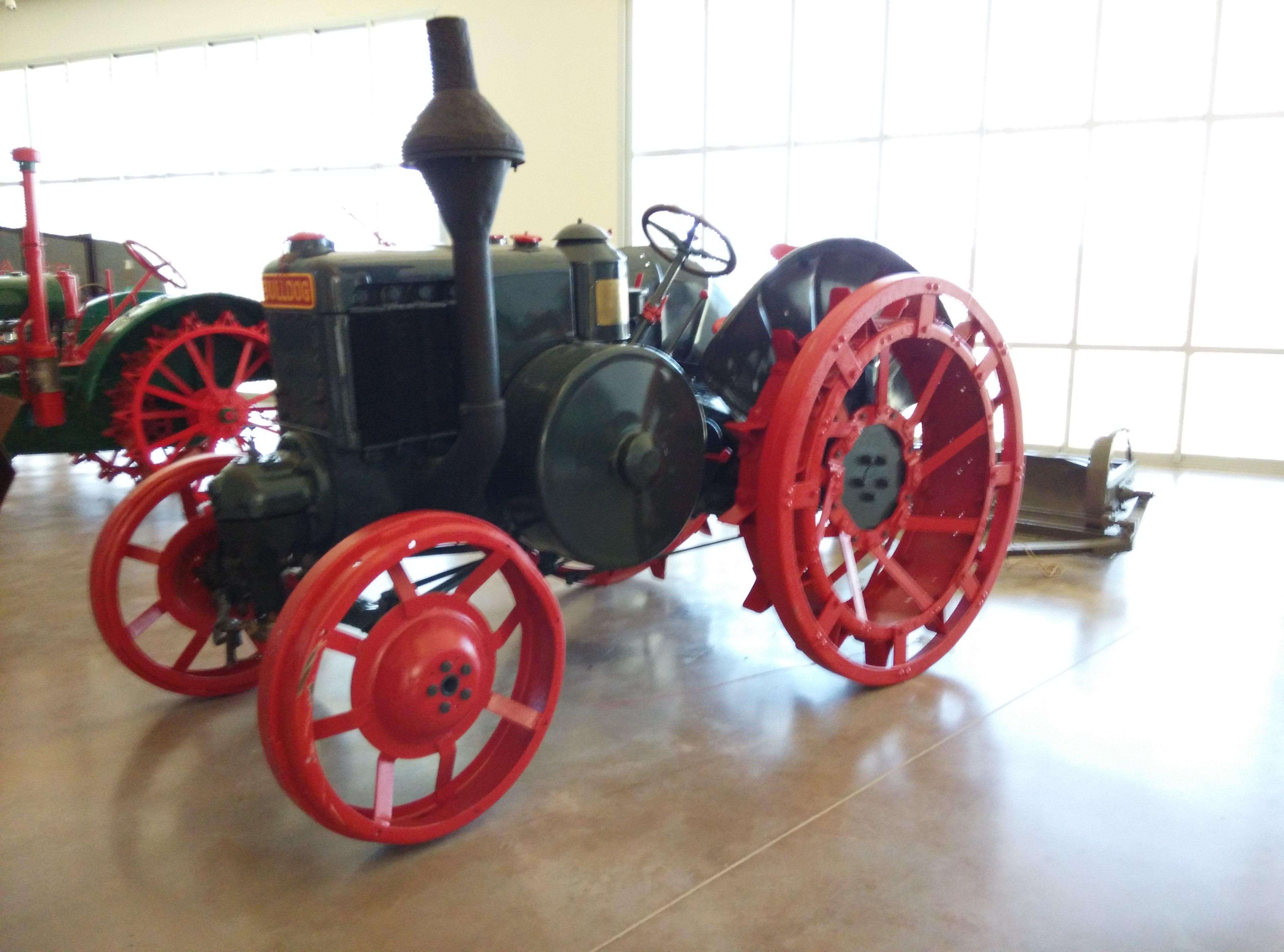 Tractor Bulldog 15.30 HR 5, de Lanz (1930)