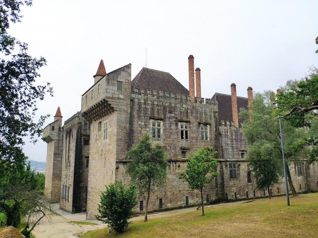 Palacio de los Duques de Braganza, en Guimarães